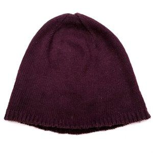 ✅ H&M Divided Burgundy Wine Knit Beanie Hat OS